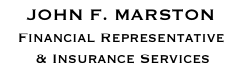 John F. Marston, Financial Representative, Insurance Services
